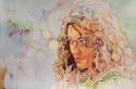 Rex Beanland, Dreams & Schemes, watercolour, 14 x 21
