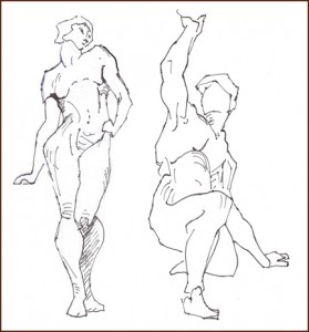 Its About Drawing The Human Figure By Coming To Understand Structure And Proportion Of Body