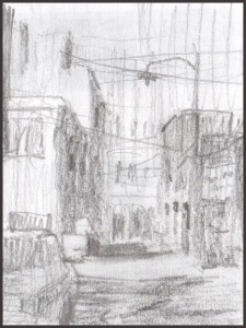 Rex Beanland, Thumbnail Sketch