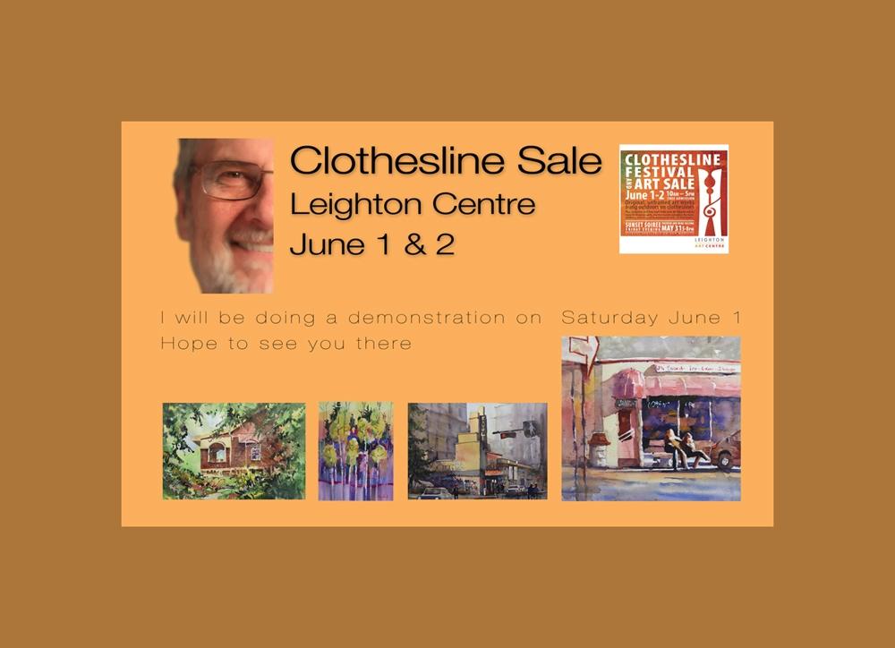 Rex Beanland, Clothesline Sale