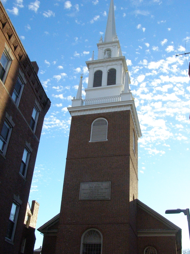 Rex Beanland, Old North Church, Boston