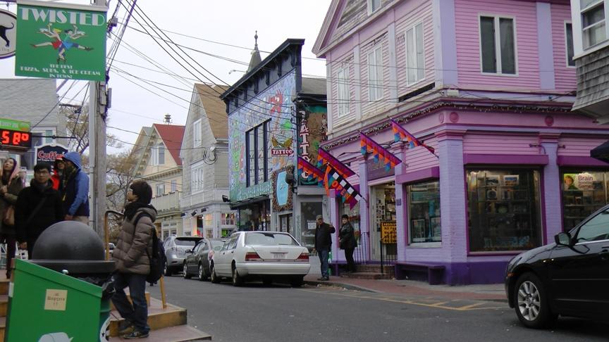 Rex Beanland, Main Street, Provincetown