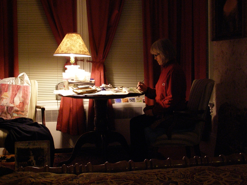 Rex Beanland, Susan In Hotel, Provincetown