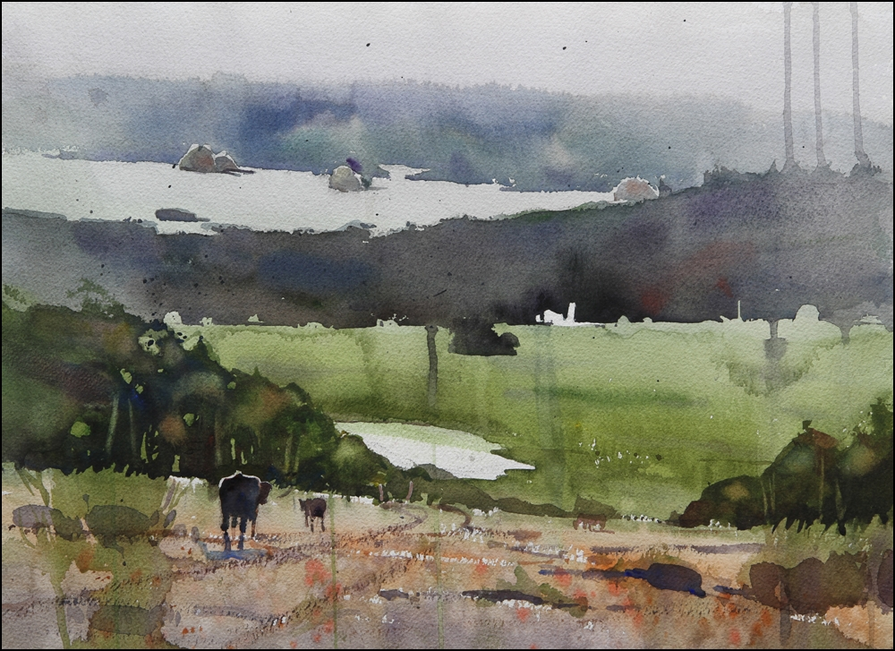 Rex Beanland, Foothills & Cows 2