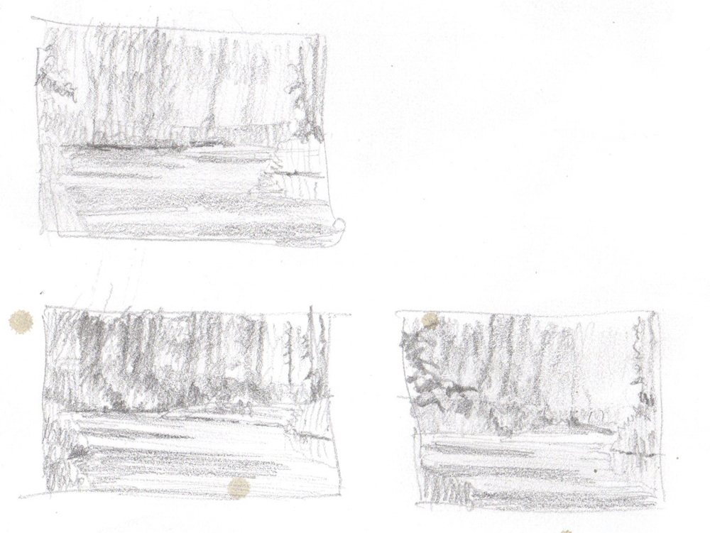 Rex Beanland, 3 thumbnails, Griffith Woods