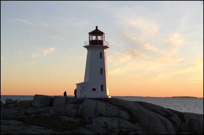 Rex Beanland, Lighthouse At Peggy's Cove