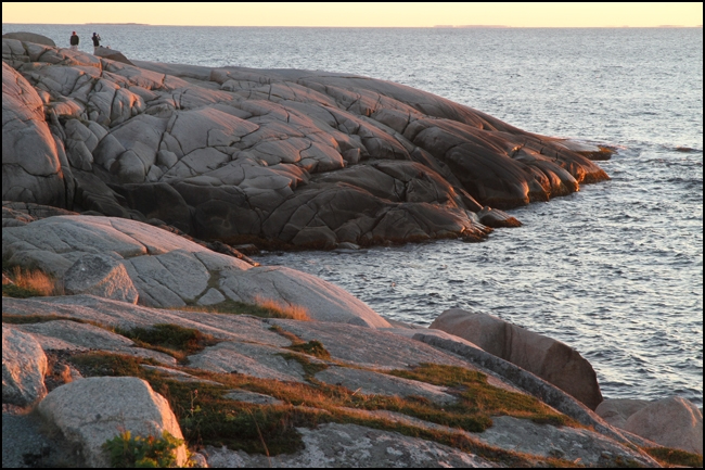 Rex Beanland, The Rocks At Peggy's Cove