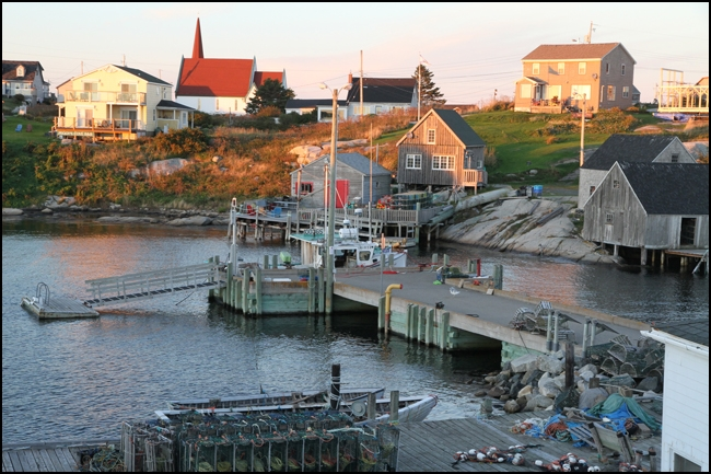Rex Beanland, Peggy's Cove