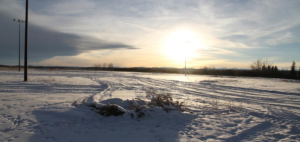 Rex Beanland, Prairie Sunset