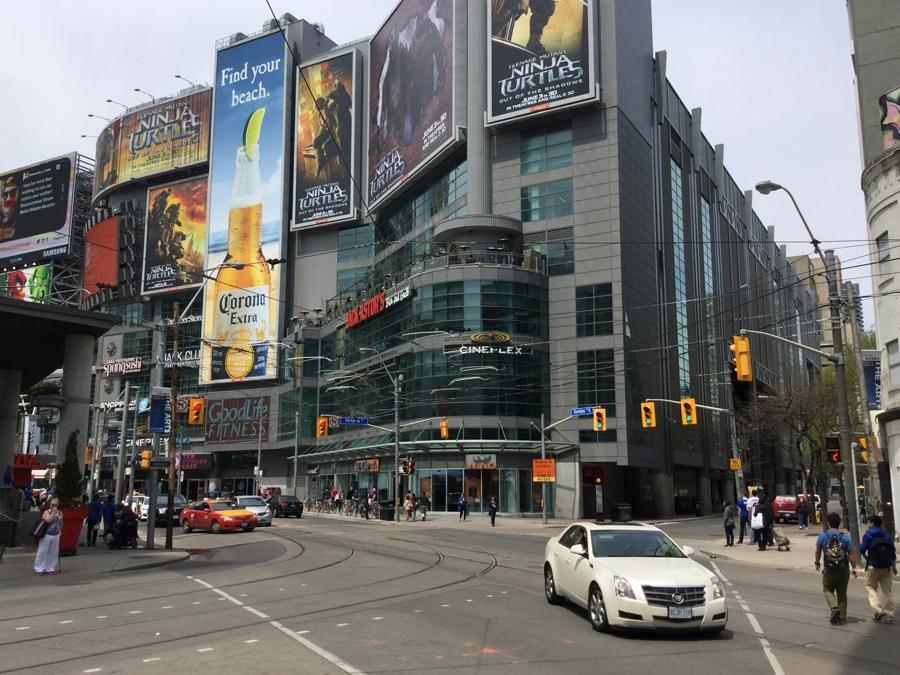 Rex Beanland, Downtown Toronto