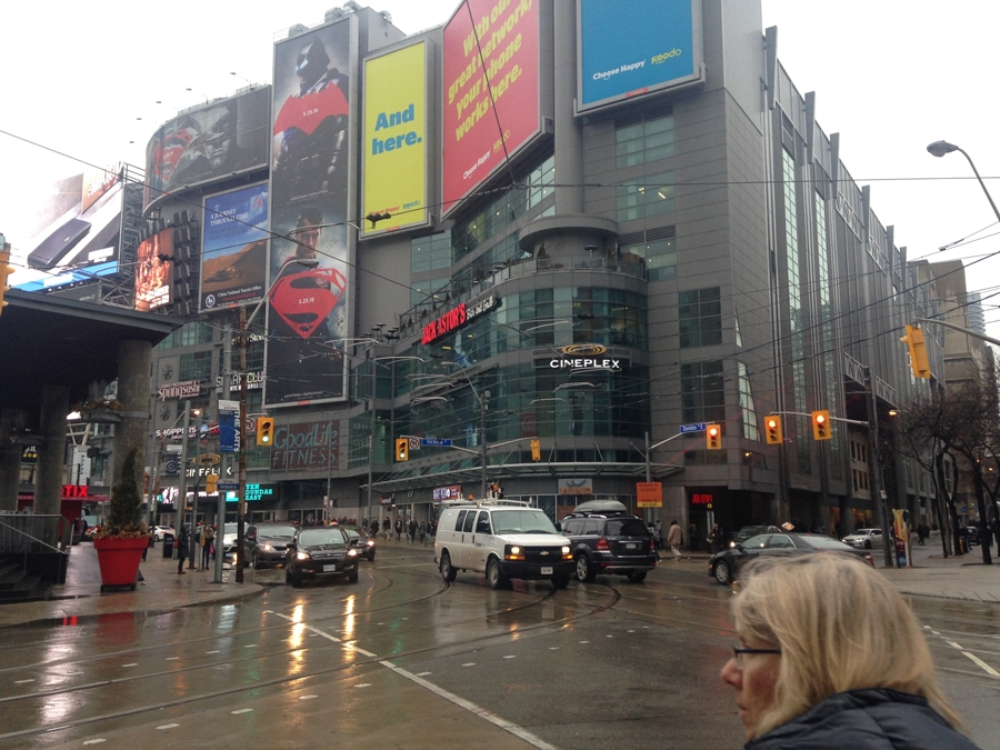 Wet Day In Toronto