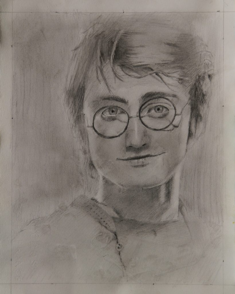 Rex Beanland, Harry Potter, graphite