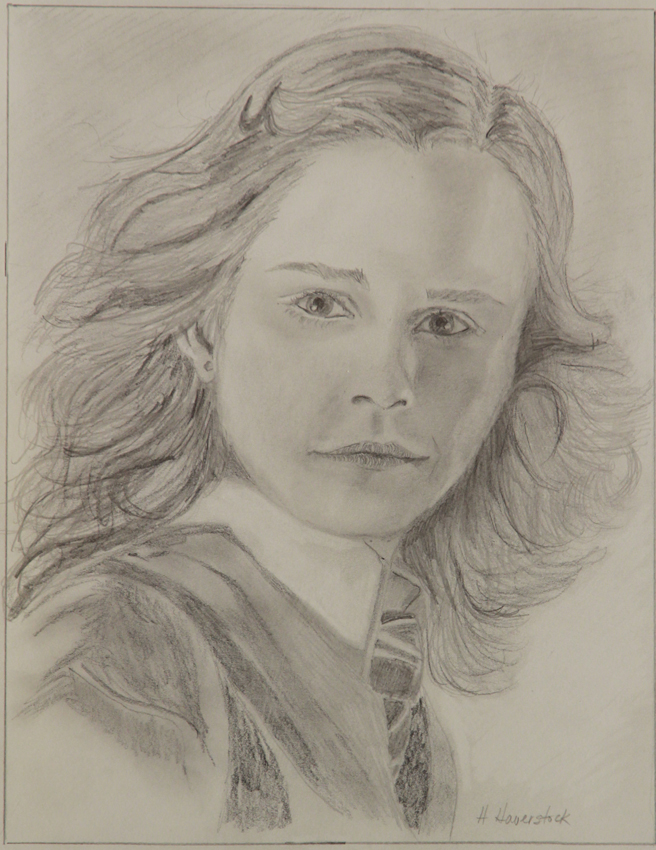 Rex Beanland, student Honor drawing, Emma Watson