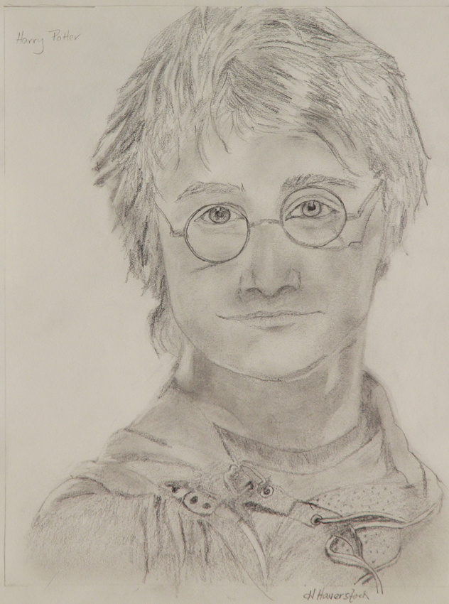 Rex Beanland, student Honor drawing, Harry Potter
