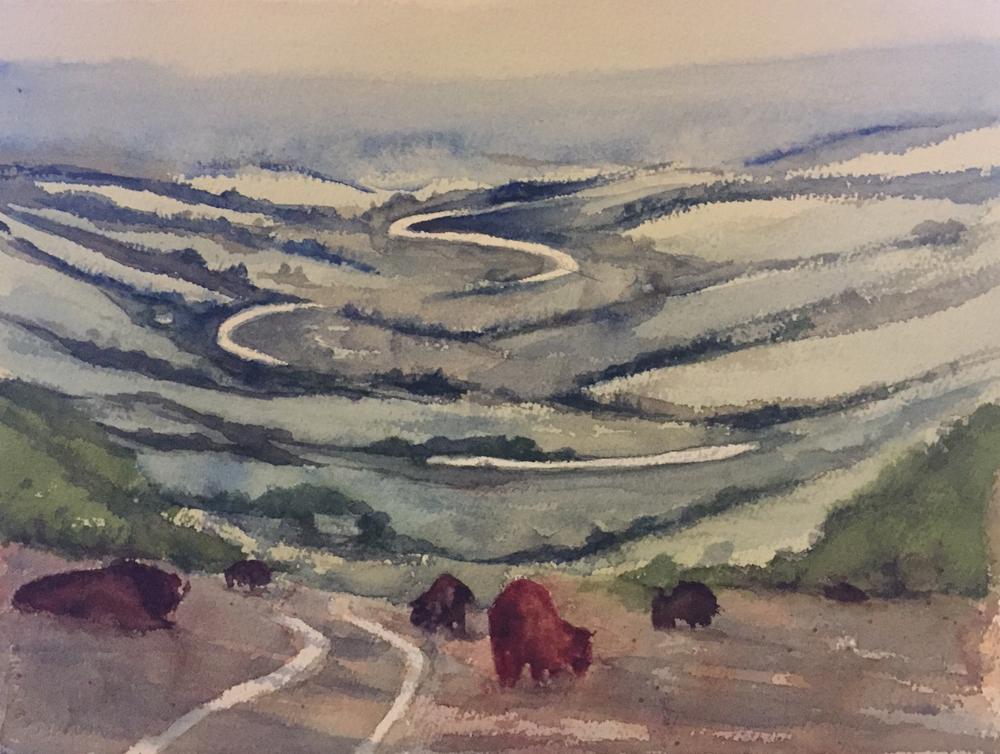 Rex Beanland, Leighton Landscape Workshop, 2018