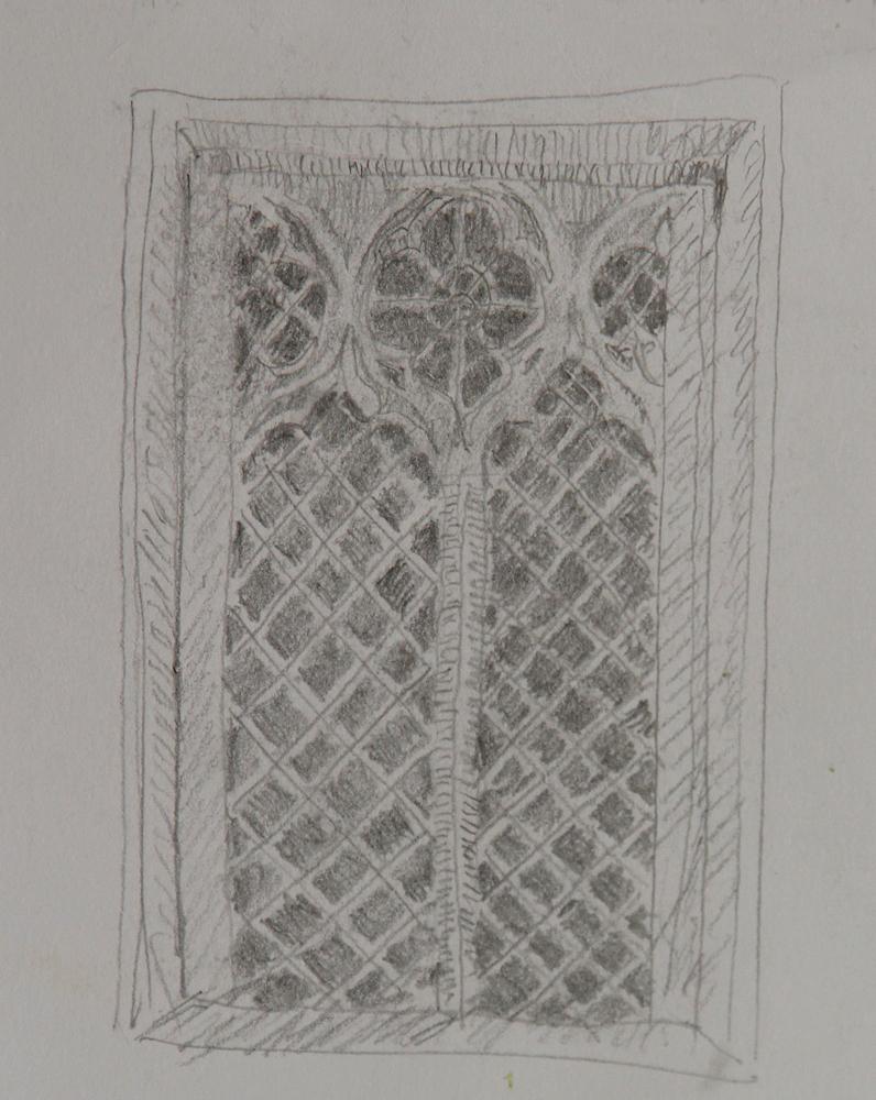 Rex Beanland, St John Of Beverley Church, Harpham, Detail