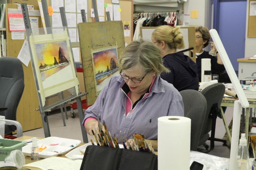 Rex Beanland, The Hat Art Club Workshop