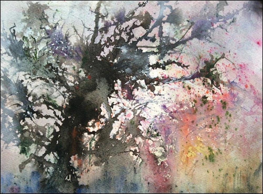 Loreley Boutin, watercolour, 9 x 12