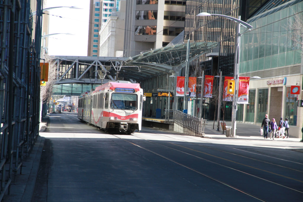Rex Beanland, The LRT (Light Rapid Transit, Calgary)