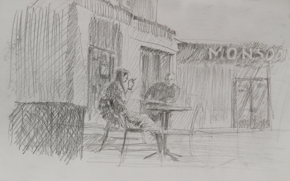 Rex Beanland, Worthing Coffee Shop 2
