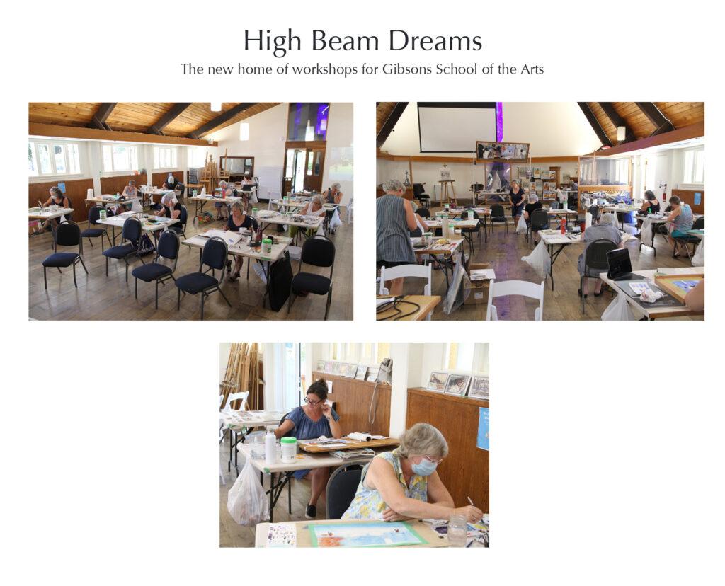 Rex Beanland, high beam dreams, Gibsons
