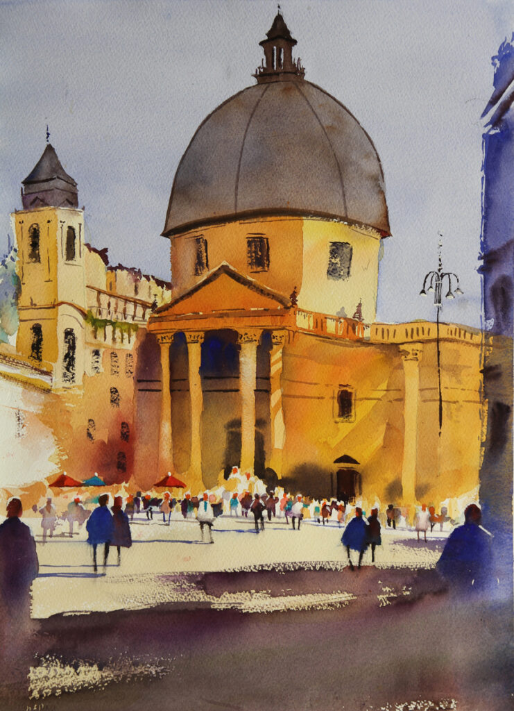 Rex Beanland, Piazza del Popolo Gibsons